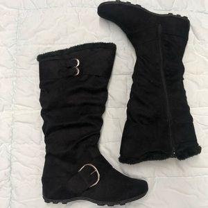 🆕✨ Black Knee High Boot